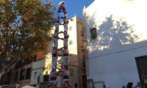4 de 8 dels Xiquets de Tarragona.