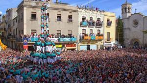 Tots Sants, a Vilafranca i Sant Narcís, a Girona, centren les diades del cap de setmana casteller.
