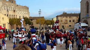 La Trobada de Colles del Sud, celebrada a Montblanc.