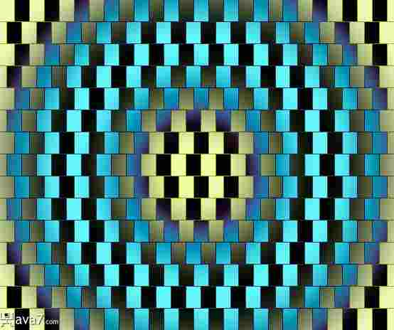Más ilusiones de líneas que no parecen paralelas.