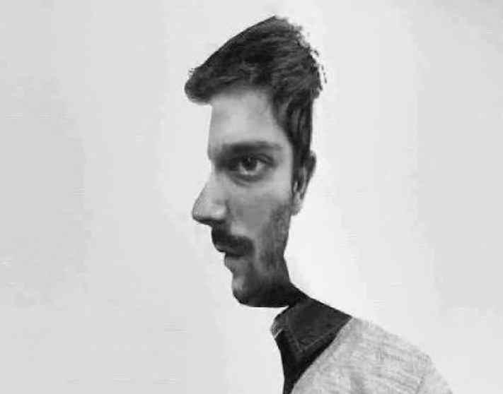 ¿Qué ves primero, el perfil o el frontal?