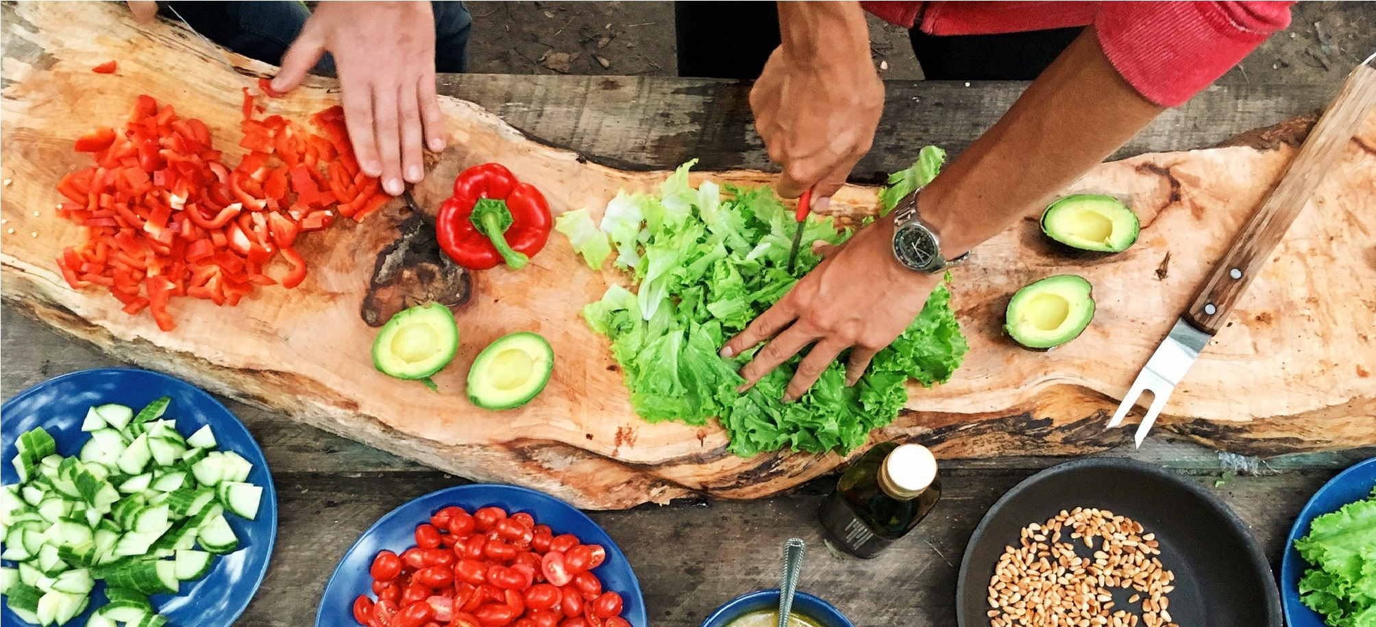 Información sobre alimentación, nutrición, dietas, comidas y hábitos saludables en la cocina.
