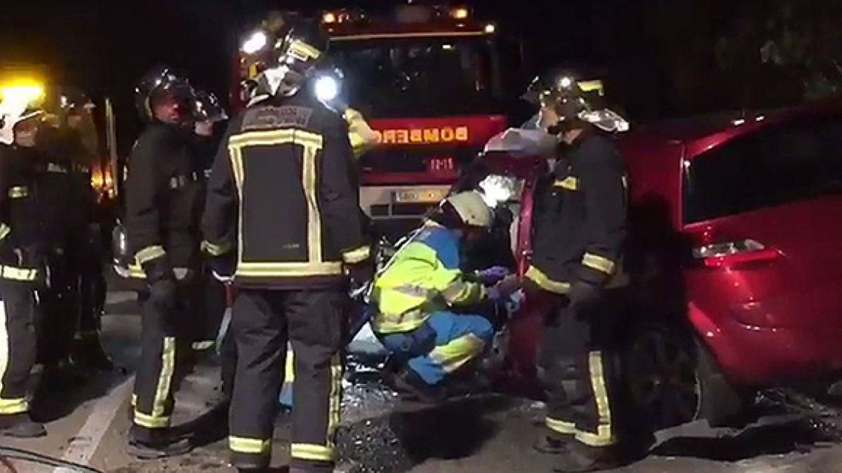 Fallece un hombre en un accidente de tr fico en la ap 7 en - Direccion de trafico en malaga ...