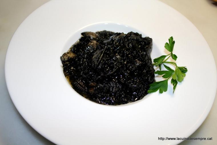 Arròs negre - Recepta pas a pas