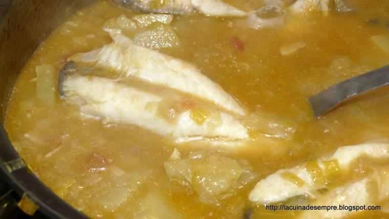 Gall de Sant Pere amb patates - Recepta pas a pas