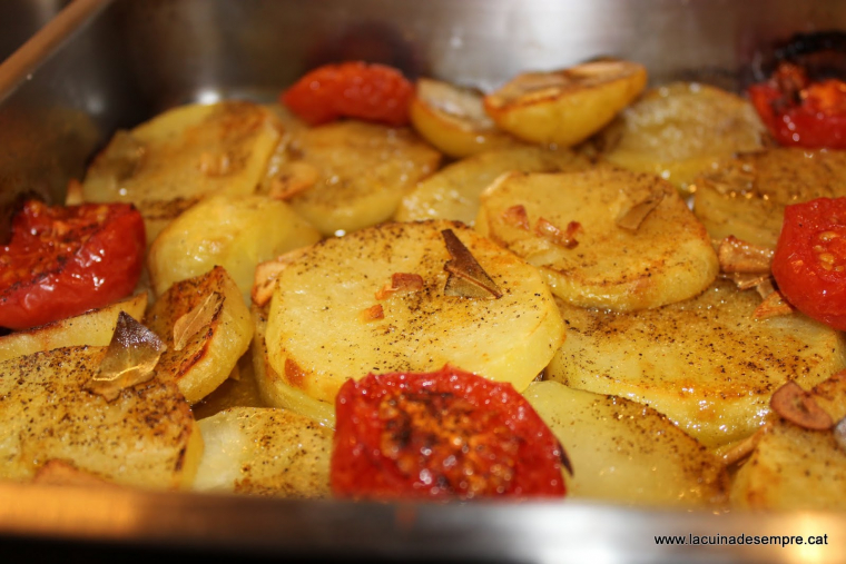 Picantons al forn - Recepta pas a pas