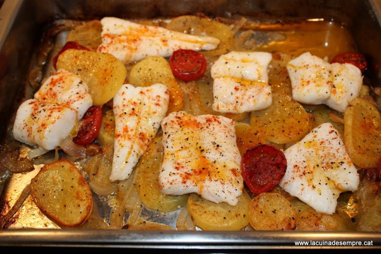Peix al forn - Recepta pas a pas