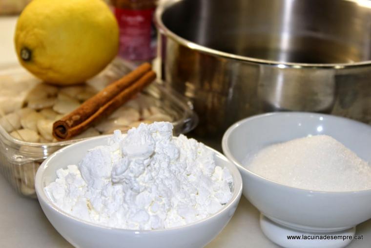 Menjar blanc - Recepta pas a pas
