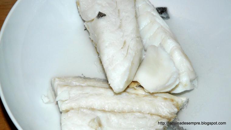 Bunyols de bacallà - Recepta pas a pas