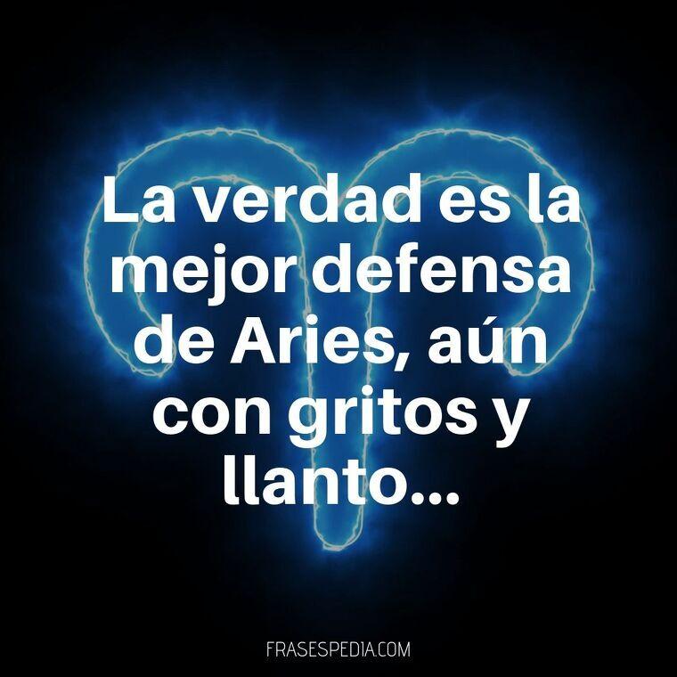 La verdad es la mejor defensa de Aries, aún con gritos y llanto