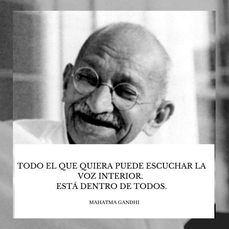 120 Frases De Gandhi Que Pasaron A La Historia