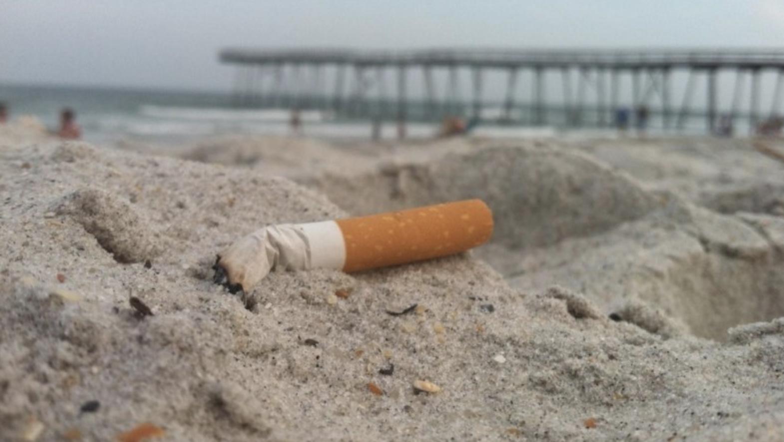 Et sembla bé que es prohibeixi fumar a les platges?